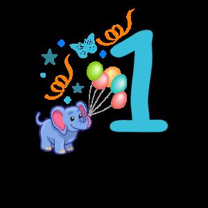 erster Geburtstag Geschenkidee Elefant
