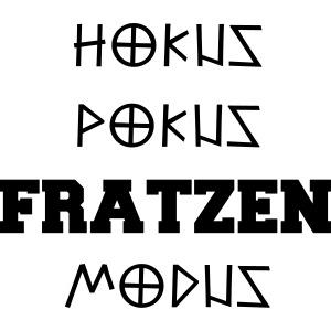 Hokus Pokus Fratzen Modus Afterhour Rave Spruch