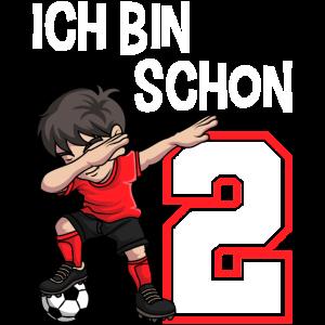 2 Geburtstag Fussball Jungen 2 Jahre Fussballer