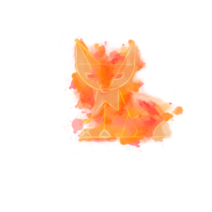 Fuchs Low Poly Art Watercolor Polygon