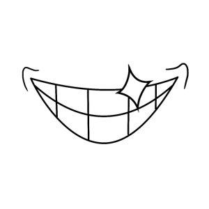 Herr lächelt