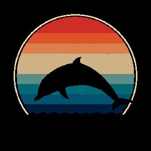 Delfin Delfine retro