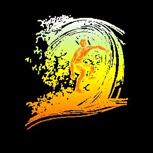 Surfer Surfbrett Surfen