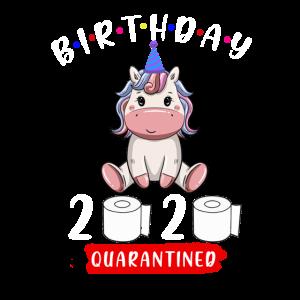 Geburtstag 2020 unter Quarantäne gestellt
