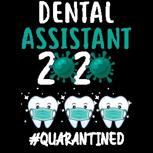 Zahnarzthelferin 2020 unter Quarantäne gestellt