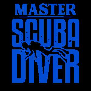 Master Scuba Diver Tauchen Ocean Swim Hobby Men Geschenk