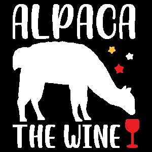 Alpaka Wein Rotwein
