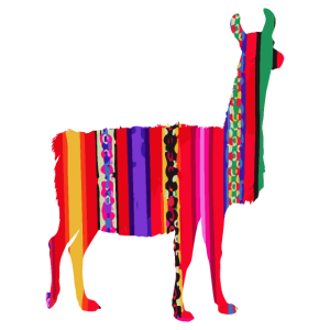 Lama Inka Design Farbenfrohe Geschenkidee