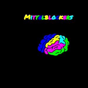 Gehirn eines Mittelblockers
