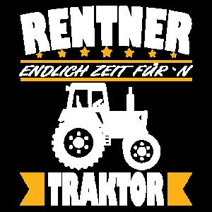 Rentner Traktor Rente Spruch für Landwirt Bauern