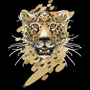 Leopard Raubkatze Leoparden Afrika