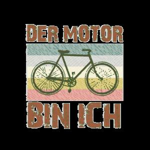 DER MOTOR BIN ICH Fahrrad