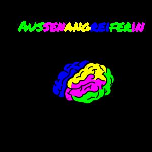 Gehirn einer Außenangreiferin