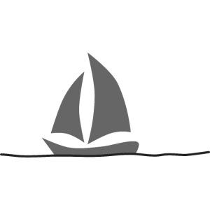 Sailing Boat Printdesign