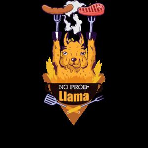 NO BBQ PRO Llama BBQ Grillen grill Lama Griller