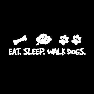 Essen - Schlafen - Spazieren