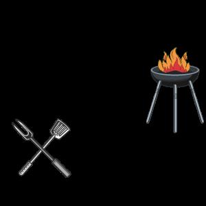 Hier grillt nur Papa