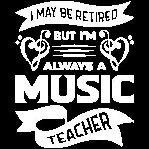 Musiklehrer Immer ein Musiklehrer
