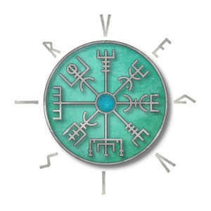 vegvisir simbolo runico vichingo