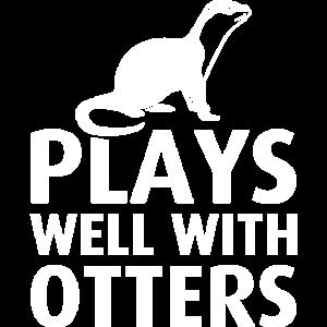 Mit Otter spielen