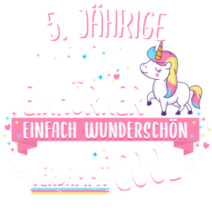 Geburtstag 5 Geburtstag Einhorn Spruch Party