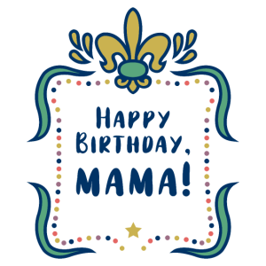 HAPPY BIRTHDAY, MAMA! - auf Kinderkleidung