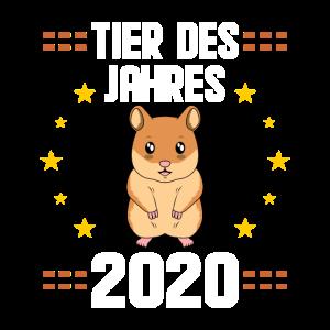 Lustiges Hamster Tier des Jahres 2020 Hamsterkäufe
