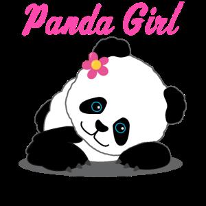 Panda Girl Mädchen Pandabär Geschenk