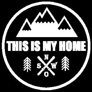 This is my home - Berge Wandern Skifahren
