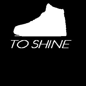 WÄHLEN SIE ZU GLÄNZEN - Meme - Wortspiel - Schuhe zu
