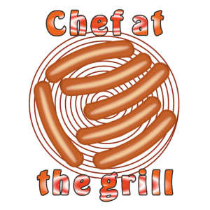 Rost Wuerste Chef at the grill