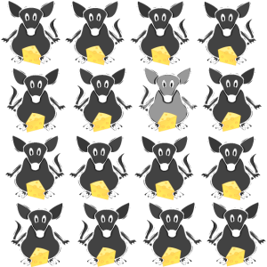 Kleine Nagetiere - Muster