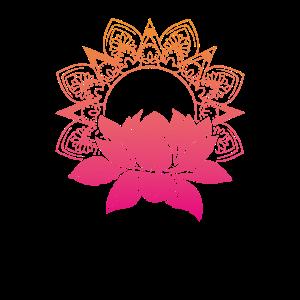 90s Neon Lotus