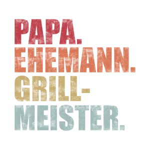 Papa der Grillmeister Geschenkidee