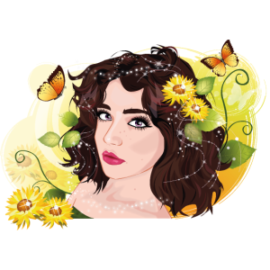Sonnenblumenmädchen