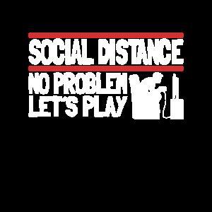 Social Distancing No Problem Gaming Gamer Corona