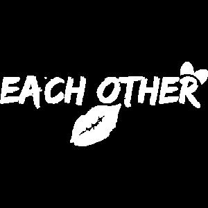 Für einander gemacht Paar Pärchen