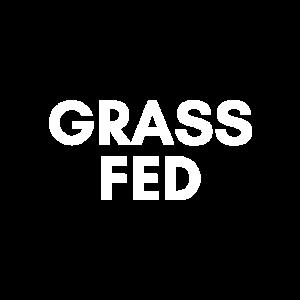 Gras gefüttert w
