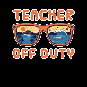 Funny Teacher Off Duty Preschool Teacher