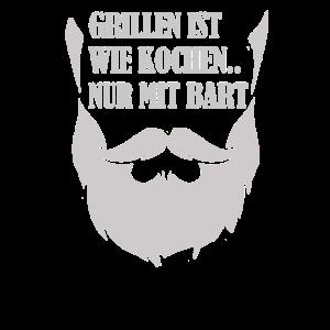 Grillen ist wie Kochen nur mit Bart
