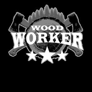 Wood Worker Waldarbeiter Wald Holz Förster Axt