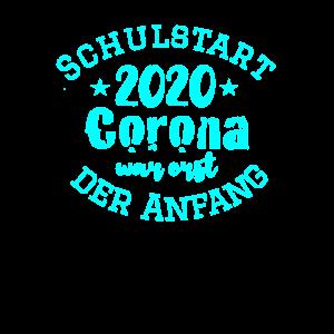 Schulanfang Geschenk Corona