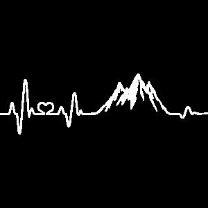 Herzschlag Berg Berge Wandern Bergsteigen Wanderer