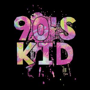 90er Neon 90s kid