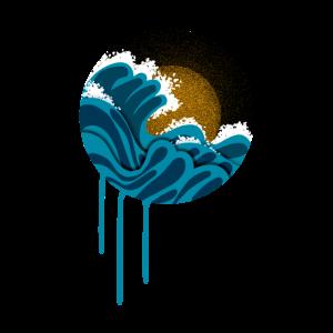 das blaue Meer