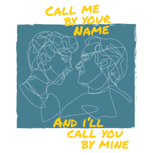 Call me by your Name Line-Art