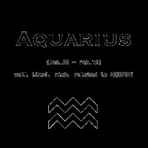 Wassermann / Sternzeichen / Aquarius