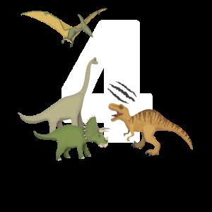 Kindergeburtstag Dino 4. Geburtstag Dinosaurier