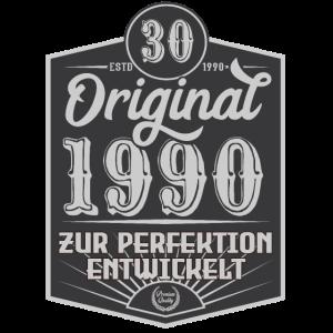 Original 1990 30. Geburtstag Vintage Shirt