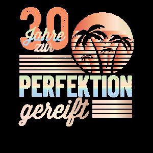 30. Geburtstag Zur Perfektion Gereift Juli 1990